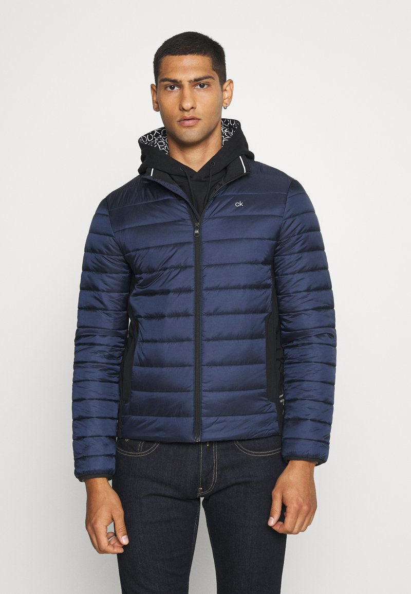 Calvin Klein - LIGHT WEIGHT SIDE LOGO JACKET - Giacca da mezza stagione - blue
