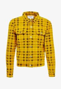 FoR - CHCK TRUCKER  - Summer jacket - yellow - 3