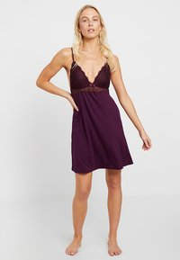 Anna Field - Nightie - dark purple - 1