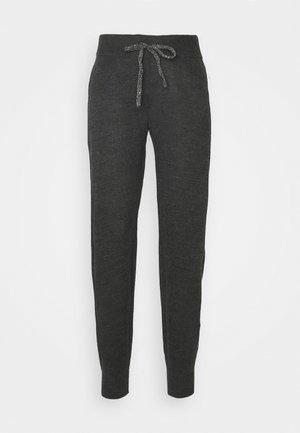 ONLAUBREE LOOSE PANTS  - Teplákové kalhoty - dark grey melange
