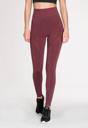 Leggings - Trousers - plum