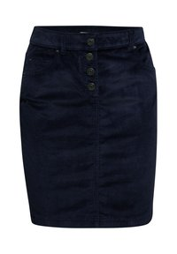 Esprit - PENCIL SKIRT - Pencil skirt - navy - 6