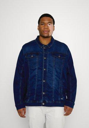 JOGG JACKET - Denim jacket - middle blue