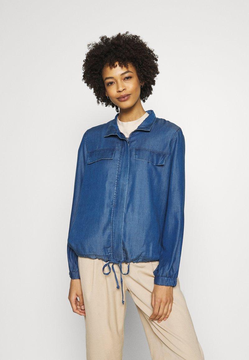 s.Oliver - Džínová bunda - blue denim