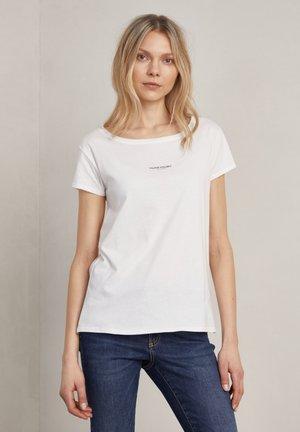 NAT - Basic T-shirt - off-white logo