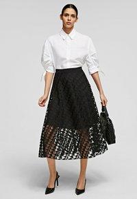 KARL LAGERFELD - Button-down blouse - white - 1