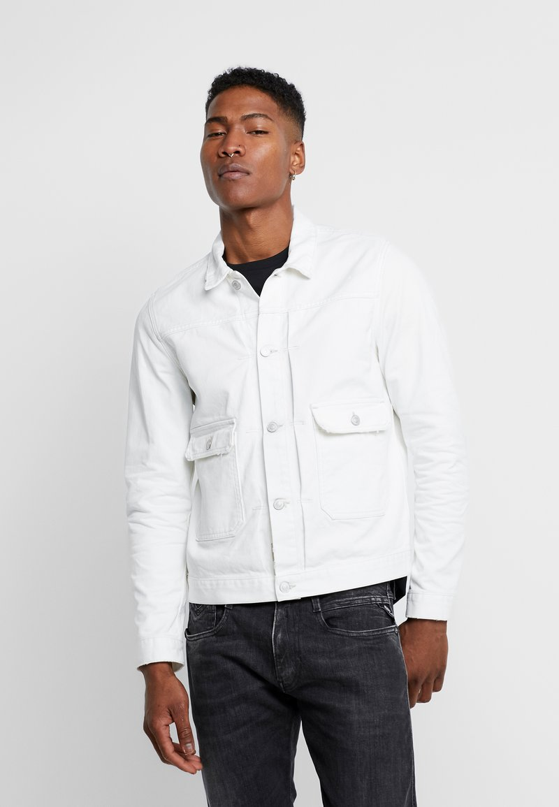 Replay - Veste en jean - off white