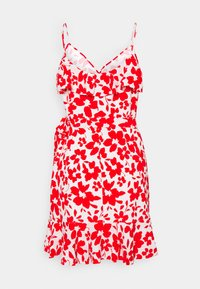 Forever New - BEA RUFFLE MINI DRESS - Robe d'été - ruby - 7