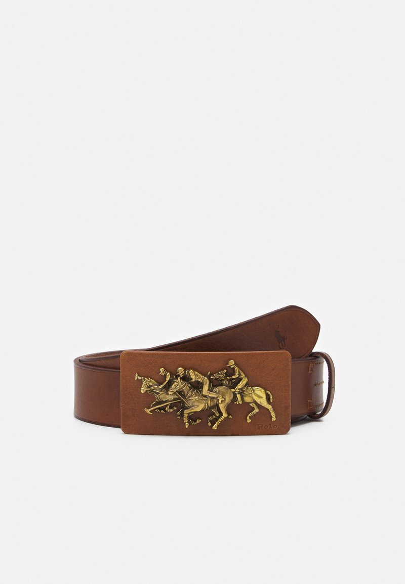Polo Ralph Lauren - SMOOTH - Pásek - saddle
