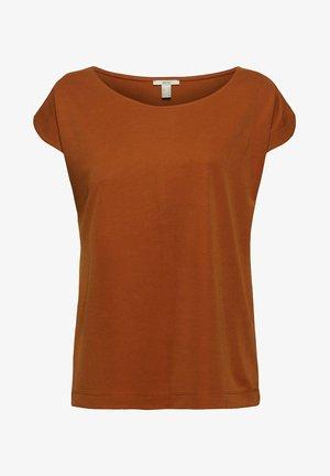 FASHION - Basic T-shirt - caramel