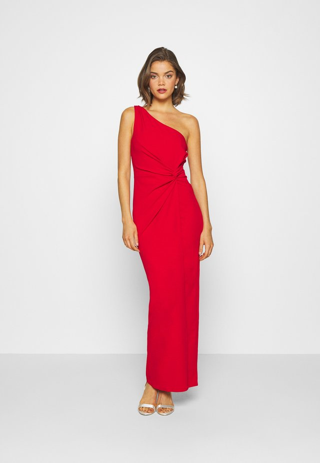 CHRISSY - Cocktailjurk - red