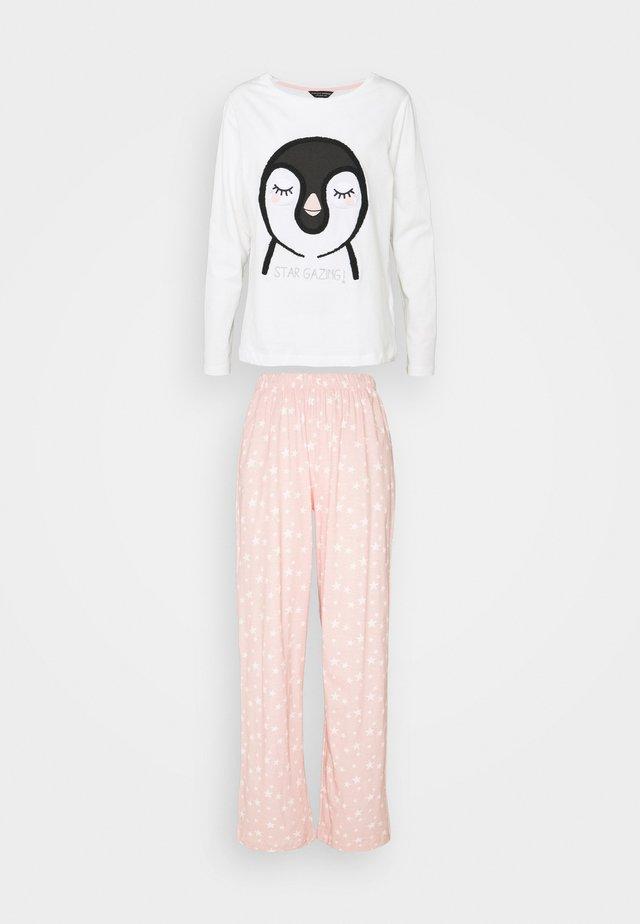 TOWLLING PENGUIN SET - Pyjamas - pink