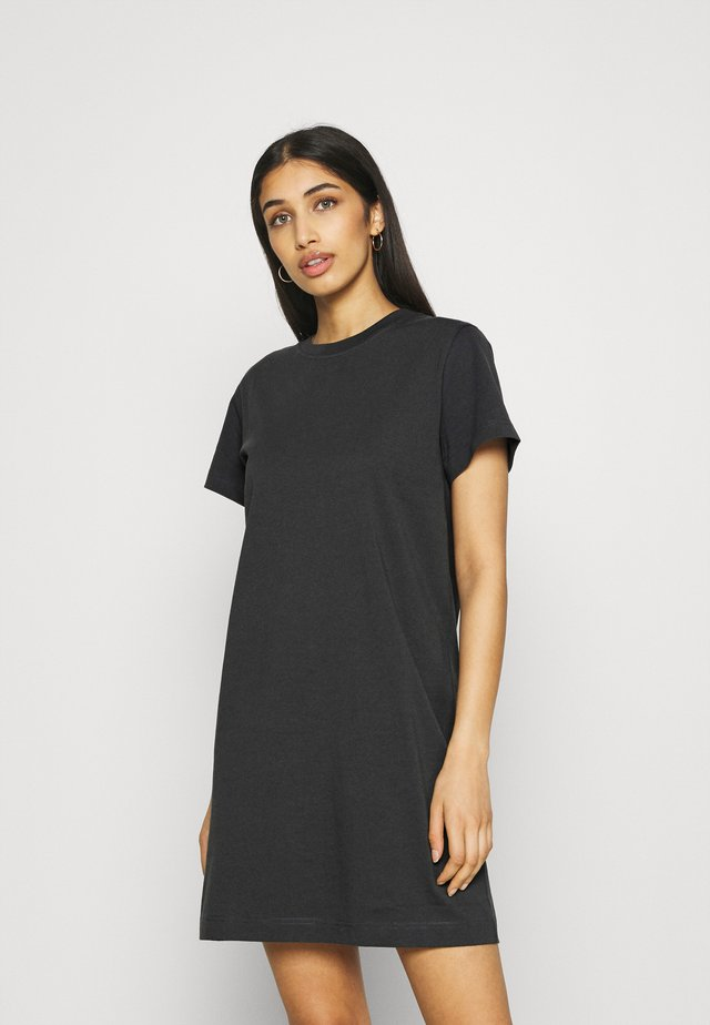 CLOVER DRESS - Jerseyjurk - off black