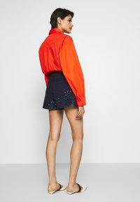 Alberta Ferretti - Denim shorts - blue - 2