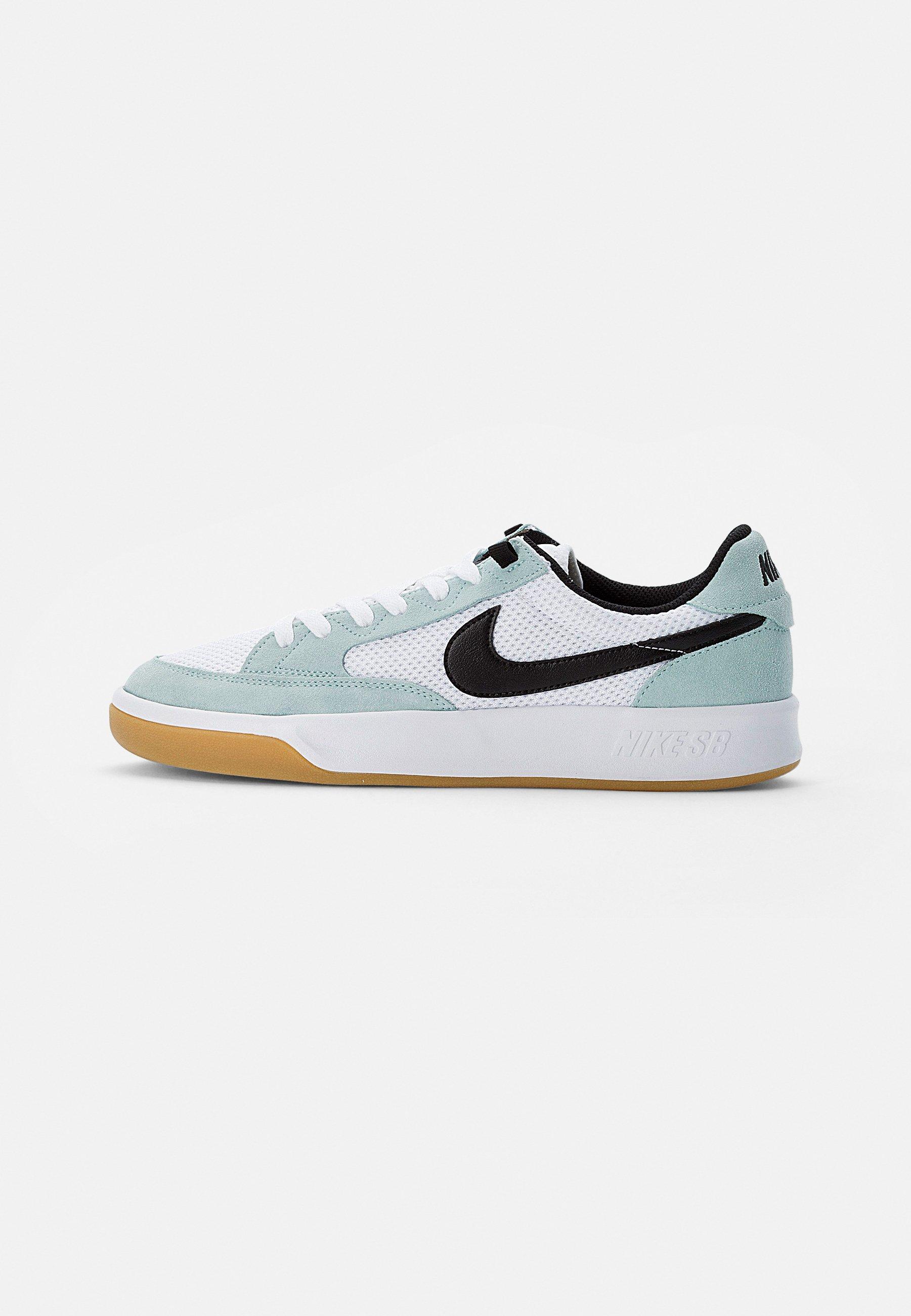 ADVERSARY UNISEX - Skate shoes - light dew/black-white-gum light brown