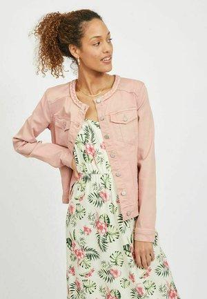 Denim jacket - misty rose