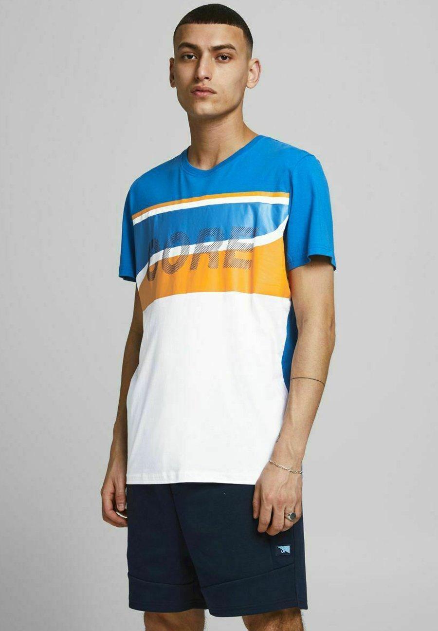 Herren JCORESIST TEE CREW NECK  - T-Shirt print