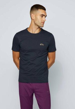 TEE CURVED - Basic T-shirt - blue