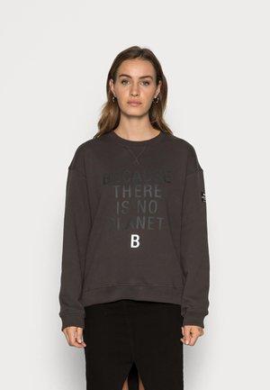 LLANESALF BECAUSE WOMAN - Sweater - asphalt