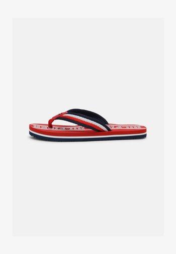 UNISEX - Sandalias de dedo - red/multicolor