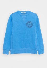Scotch & Soda - CREW NECK WITH ARTWORK - Sweatshirt - ocean mist - 0