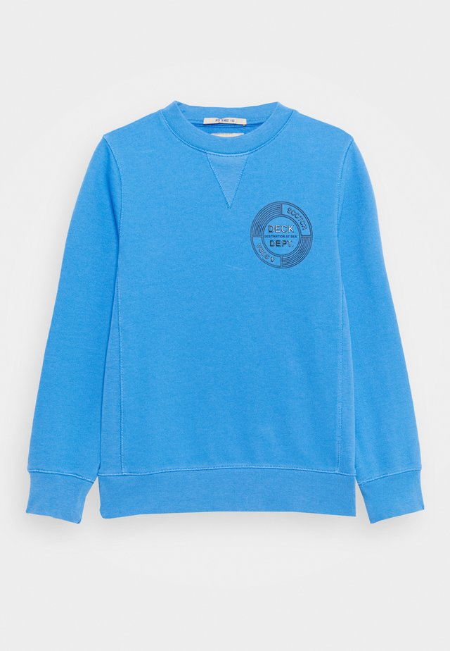 CREW NECK WITH ARTWORK - Sudadera - ocean mist