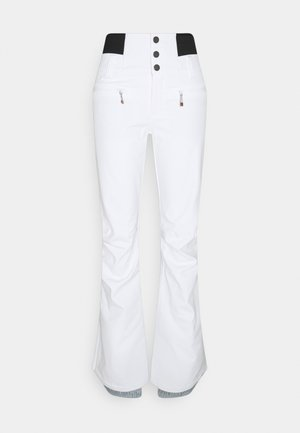 RISING HIGH - Snow pants - bright white