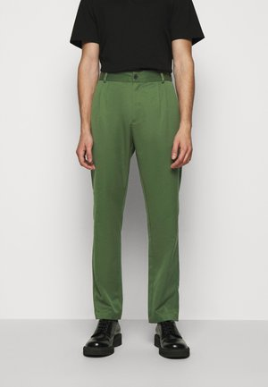 Trousers - green wool