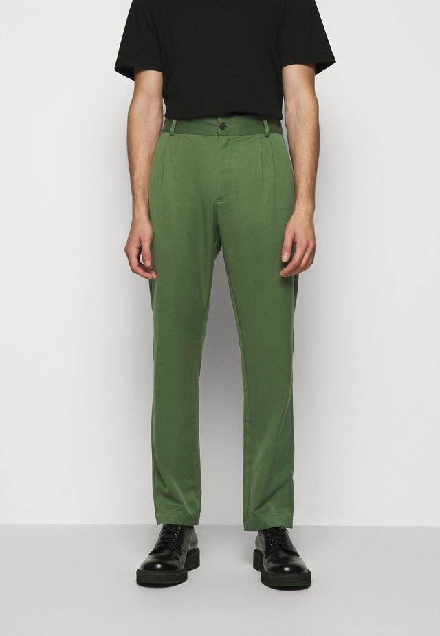 Pantaloni - green wool