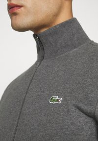 Lacoste Sport - CLASSIC JACKET - Zip-up hoodie - pitch chine/graphite sombre - 5