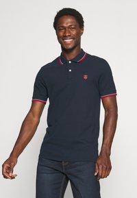 Selected Homme - SLHNEWSEASON 2 PACK - Polo shirt - navy blazer/port roayle - 1