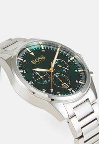 BOSS - PIONEER - Cronógrafo - silver-coloured/green - 1