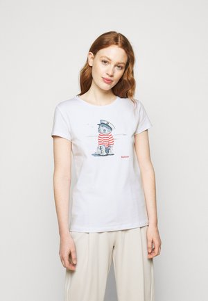 SOUTHPORT TEE - Print T-shirt - white