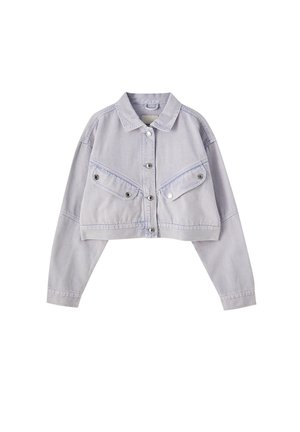 Džínová bunda - purple