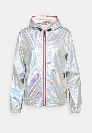WOMENS SHELL JACKET - Regnjakke - silver