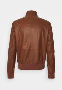 Bally - Kožená bunda - brown - 7