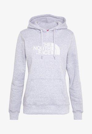 WOMENS DREW PEAK HOODIE - Hoodie - light grey heather/white
