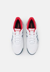 ASICS - GEL-GAME 8 CLAY - Tenisové boty na antuku - white/mako blue - 3