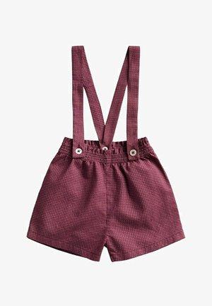 Shorts - donkerrood