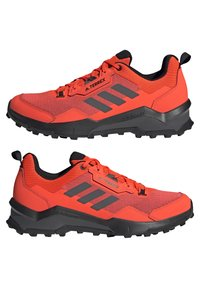 adidas Performance - TERREX AX4 - Hiking shoes - solar red/grey five/core black - 5