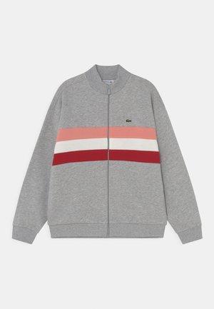 Zip-up sweatshirt - argent chine/multi-coloured