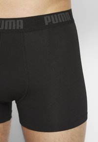Puma - BASIC 4 PACK - Boxerky - black - 4