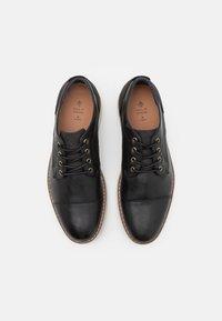 Call it Spring - VEGAN TORBEN - Zapatos con cordones - black - 3
