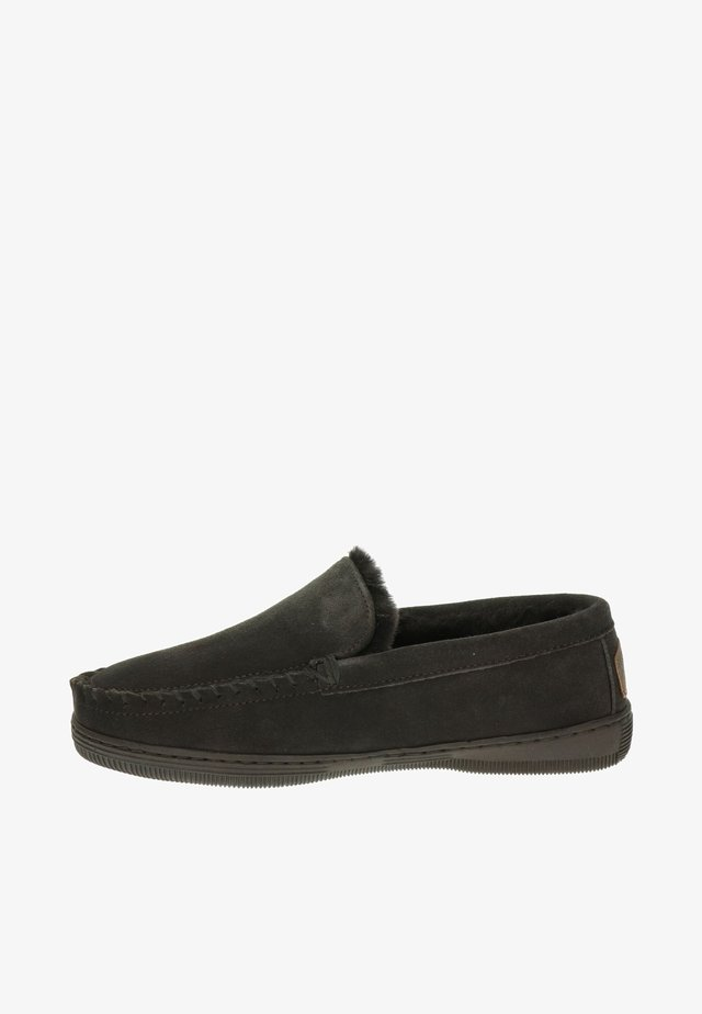 GRIZZLY - Slip-ons - bruin