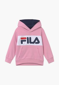 Fila - BEN LOGO HOODY UNISEX - Jersey con capucha - light pink - 0