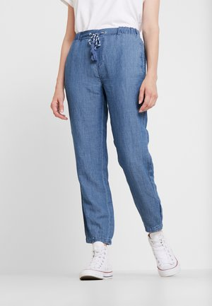Trousers - blue medium wash