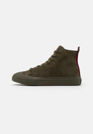 ASTICO S-ASTICO MCF SNEAKERS - Vysoké tenisky - forest green