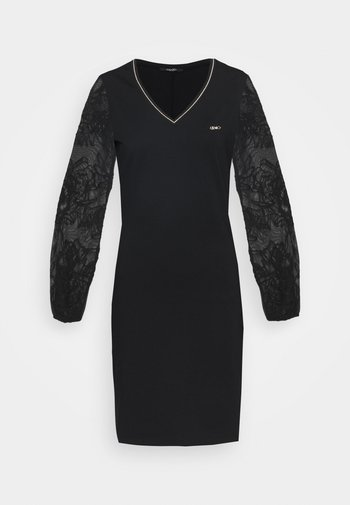ABITO - Sukienka z dżerseju - nero