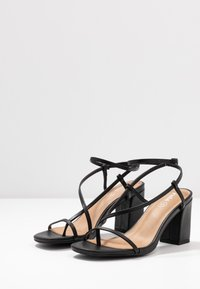Rubi Shoes by Cotton On - HARPER STRAPPY HEEL - Sandals - black - 4