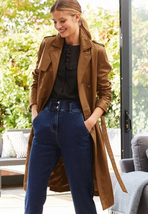 BELTED - Trenchcoat - tan